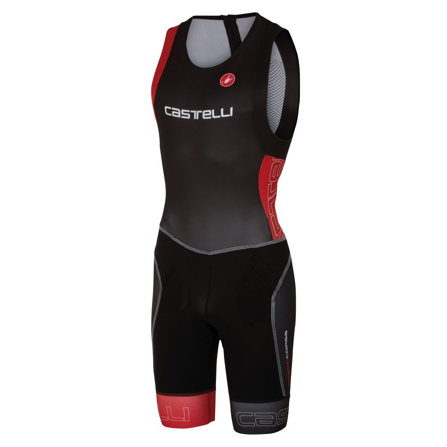 Body Castelli Free Tri Itu Suit - Black