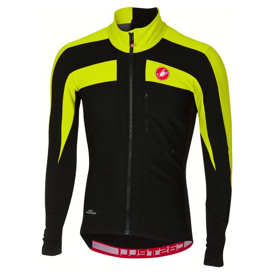 Castelli Trasparente 4 L/S jersey - Yellow Fluo