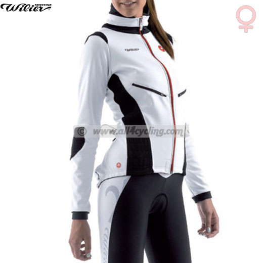 Lady Wilier Primavera jacket - White