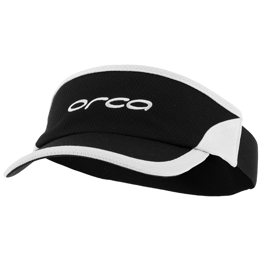 Orca Flexible Visor - Black White