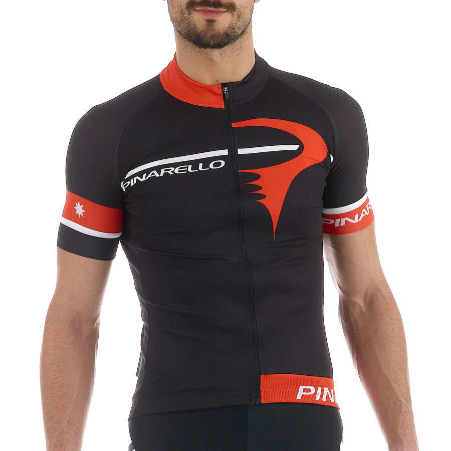 Pinarello Corsa Gara jersey - Black Red