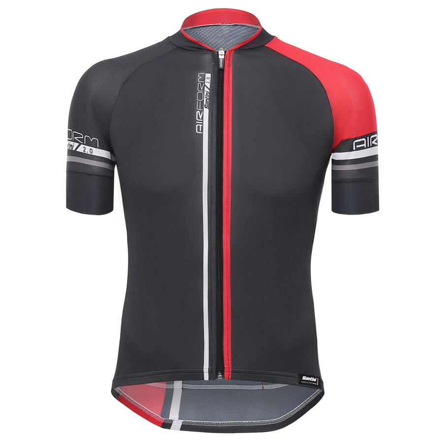 Santini Airform 2.0 Jersey - Red