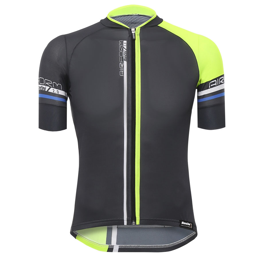 Santini Airform 2.0 Jersey - Yellow Fluo