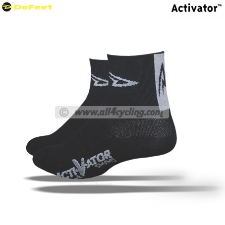 Socks DeFeet Activator - D Logo Black