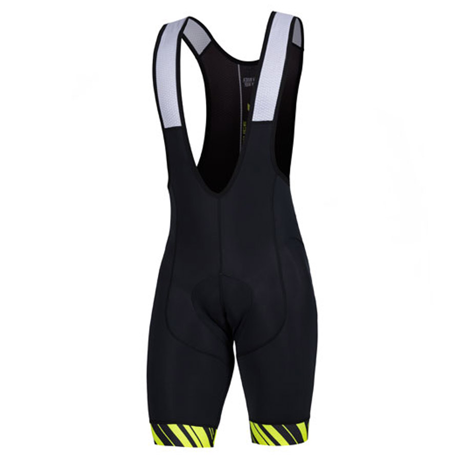 Spiuk Performance Bib shorts - Black Yellow