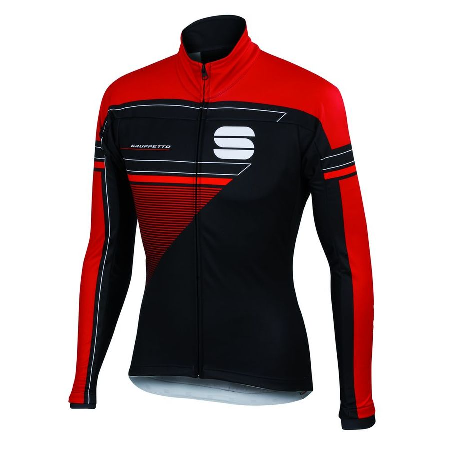 Sportful Gruppetto Partial WS Jacket - Red