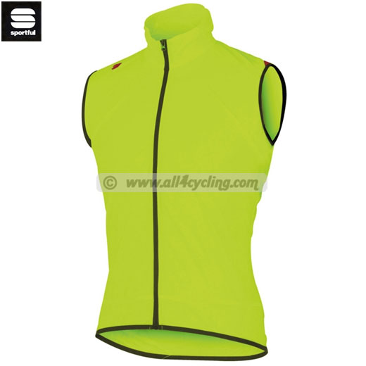 Sportful Hot Pack Vest - Yellow Fluo