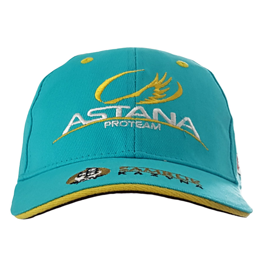Team Astana 2017 Cycling Podium Cap