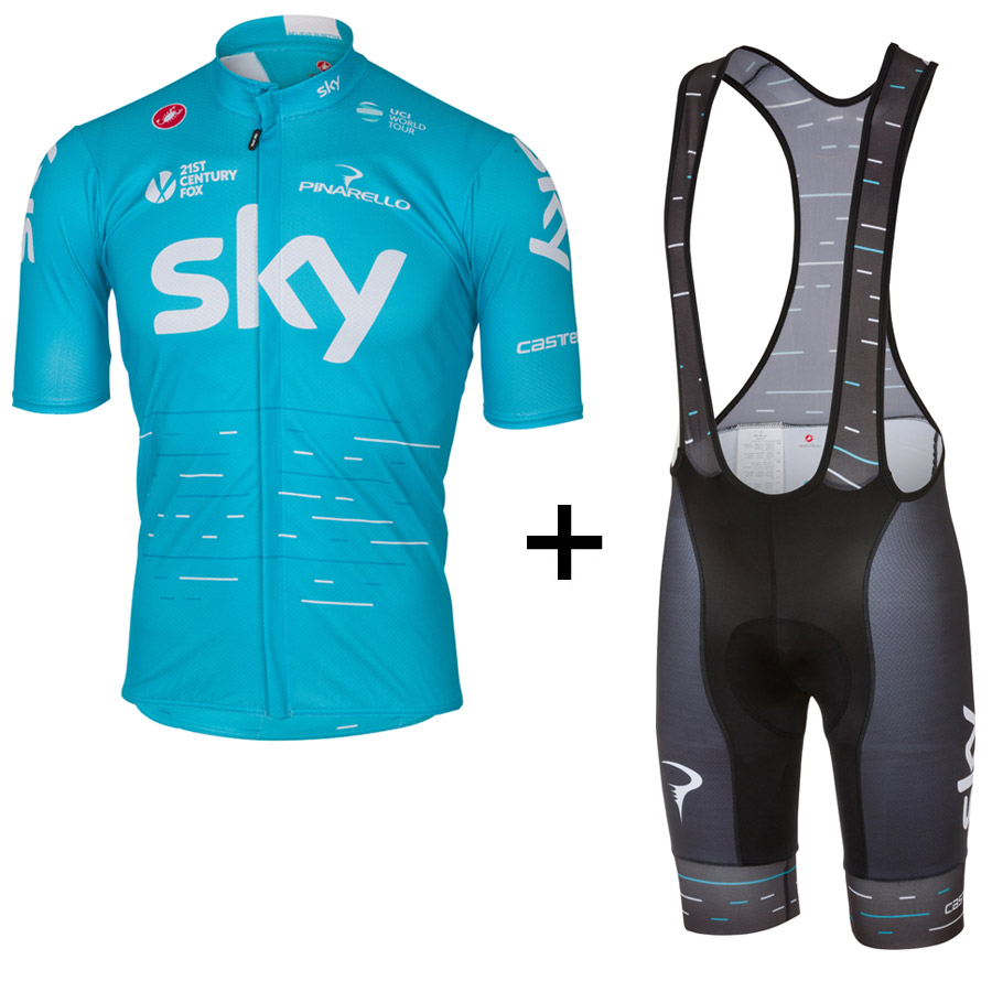 Team Sky 2017 Podio Kit - Blue
