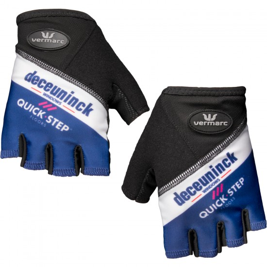 Deceuninck-Quick-Step 2019 Short Finger Cycling Gloves