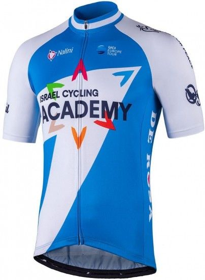 Israel Cycling Academy 2018 Short Sleeve Jersey (Long Zip)
