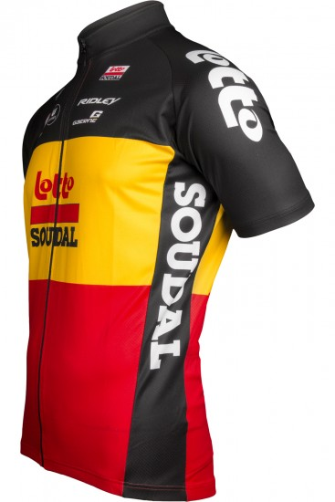 Lotto Soudal Belgian Time Trail Champ 2019 Short Sleeve Cycling Jersey