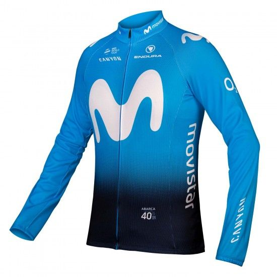 Movistar 2019 Long Sleeve Cycling Jersey