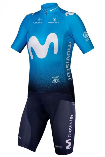Movistar 2019 Womens Set (Jersey + Bib Shorts)