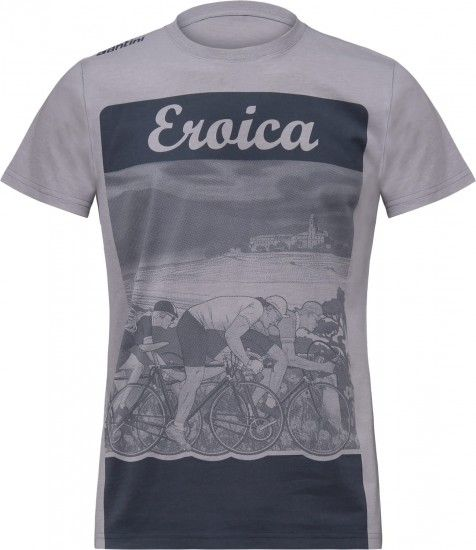 Eroica Epoca T-Shirt Grey