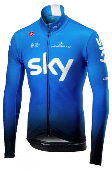 Team Sky 2019 Training Edition Long Sleeve Cycling Jersey